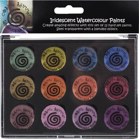 Cosmic Shimmer Antique Shades Iridescent Watercolour Palette