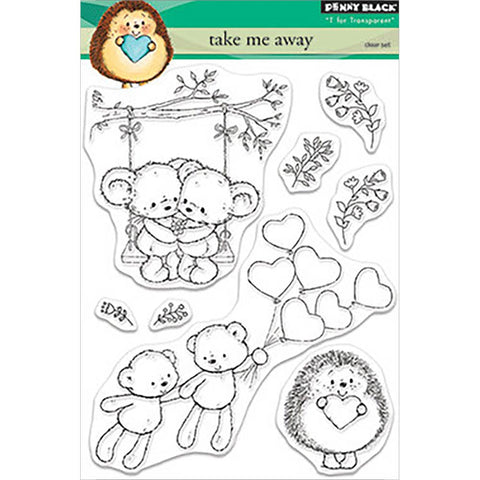 Take Me Away Clear Stamps