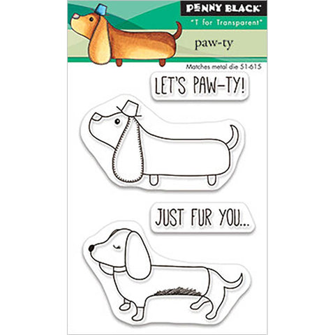 Paw-ty Clear Stamps