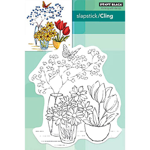 Alluring Arrangement Clear Stamps