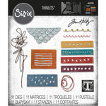 Tim Holtz Media Marks Thinlits Dies