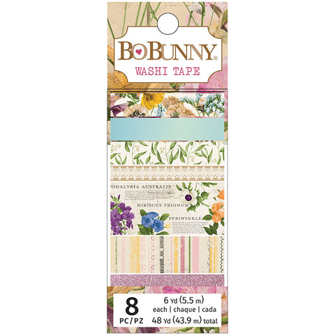 Botanical Journal Washi Tape Set