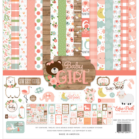 Baby Girl 12x12 Collection Kit