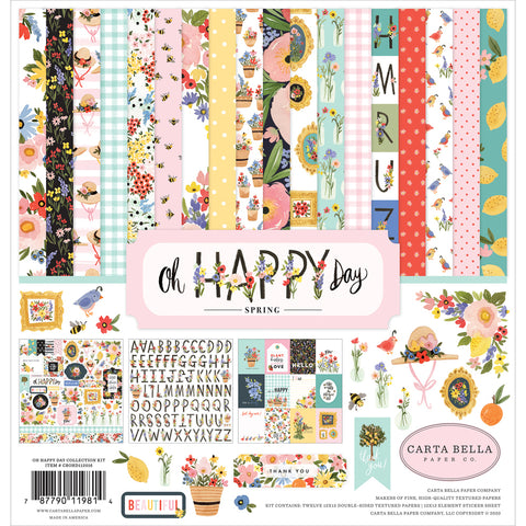 12x12 Collection Kit: Oh Happy Day Spring