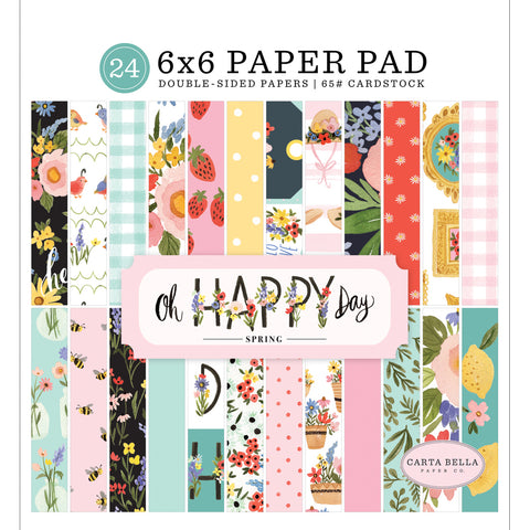 6x6 Paper Pad: Oh Happy Day Spring