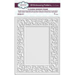 Sue Wilson Flourish Border Frame 3D Embossing Folder