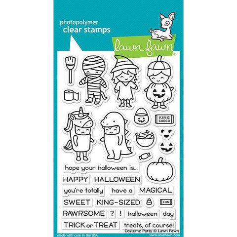 Costume Party 4x6 Clear Stamps