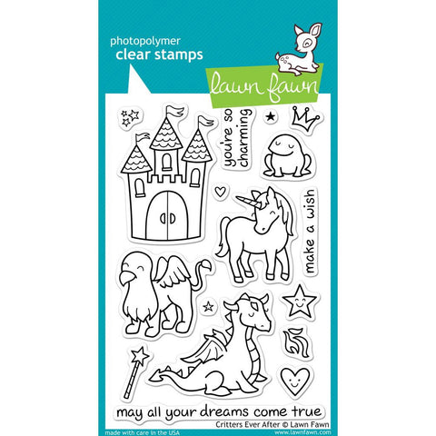 Critters Ever After 4x6 Clear Stamps