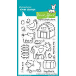 Critters on the Farm 4x6 Clear Stamps