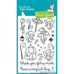 Fairy Friends 4x6 Clear Stamps