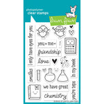 Science of Love 4x6 Clear Stamps
