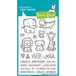 Wild For You 4x6 Clear Stamps