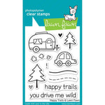 Happy Trails 3x4 Clear Stamps