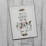 Lovely 3x4 Clear Stamps