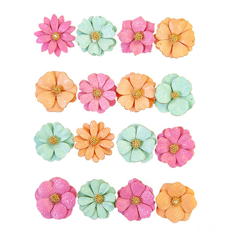 Surfboard Surf Break Mulberry Paper Flowers