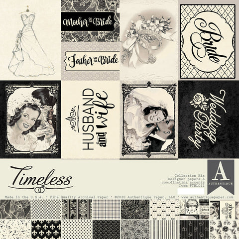 Timeless 12x12 Collection Pack