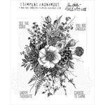 Tim Holtz Glorious Garden Cling Stamps