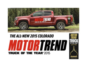 Motor Trend Truck of the Year Vehicle-Side Graphics for 2015 COLORADO