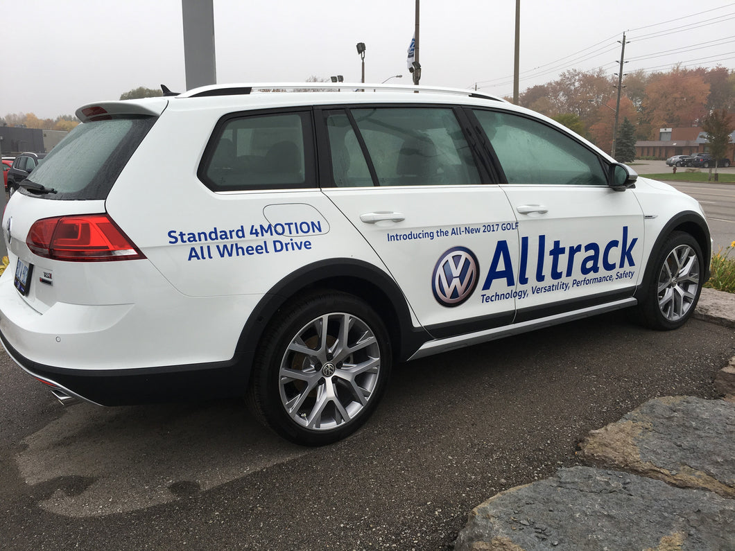 ALLTRACK - VEHICLE-SIDE GRAPHICS