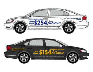 PAYMENT - VEHICLE-SIDE GRAPHICS
