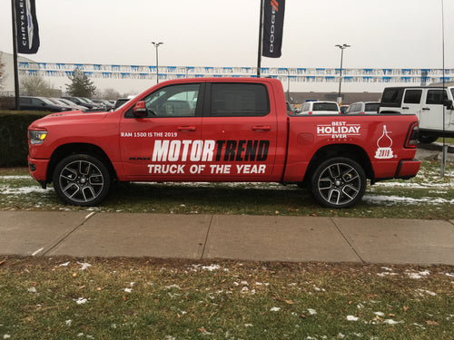 Motor Trend Truck of the Year Vehicle-Side Graphics