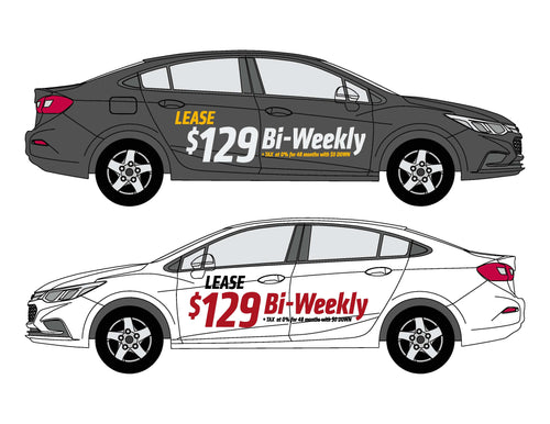 CRUZE LEASE OFFER - $129 BI-WEEKLY