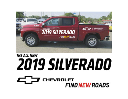 2019 SILVERADO LAUNCH 2 - VEHICLE-SIDE GRAPHICS