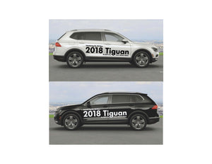 2018 TIGUAN - LAUNCH SIDE GRAPHICS #1