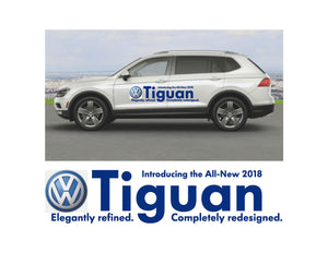 2018 TIGUAN - LAUNCH SIDE GRAPHICS #2