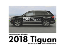Load image into Gallery viewer, 2018 TIGUAN - LAUNCH SIDE GRAPHICS #1