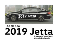 Load image into Gallery viewer, 2019 JETTA LAUNCH SIDE GRAPHICS