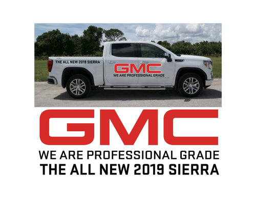 2019 SIERRA LAUNCH 2 - VEHICLE-SIDE GRAPHICS