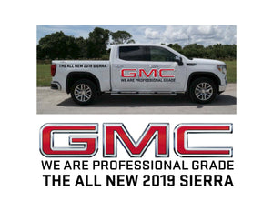 2019 SIERRA LAUNCH 1 - VEHICLE-SIDE GRAPHICS