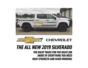 2019 SILVERADO LAUNCH 1 - VEHICLE-SIDE GRAPHICS