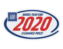Load image into Gallery viewer, GM LOGO Clearance Sticker - 10 Pack
