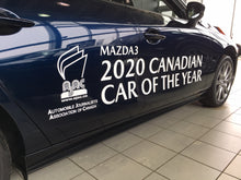 Load image into Gallery viewer, 2020 CANADIAN CAR OF THE YEAR - VEHICLE SIDE GRAPHICS