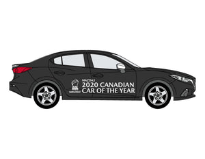 2020 CANADIAN CAR OF THE YEAR - VEHICLE SIDE GRAPHICS