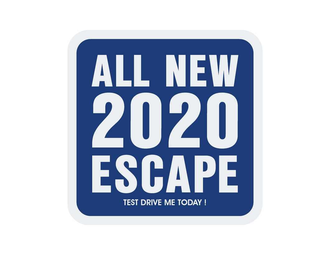 2020 ESCAPE WINDSHIELD STICKER