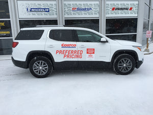 TRAVERSE / ACADIA / ENCLAVE COSTCO GRAPHICS