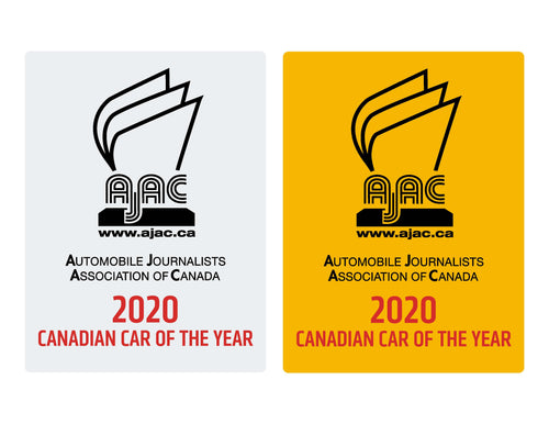AJAC 2020 WINDSHIELD STICKERS (PACKAGE)