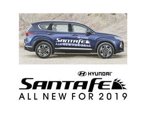 2019 Santa Fe - ALL NEW FOR 2019