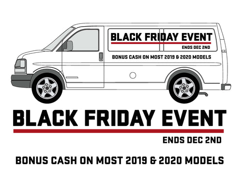 BLACK FRIDAY - PANEL VAN GRAPHICS