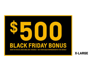 CHEVROLET BLACK FRIDAY $500 WINDSHIELD STICKER