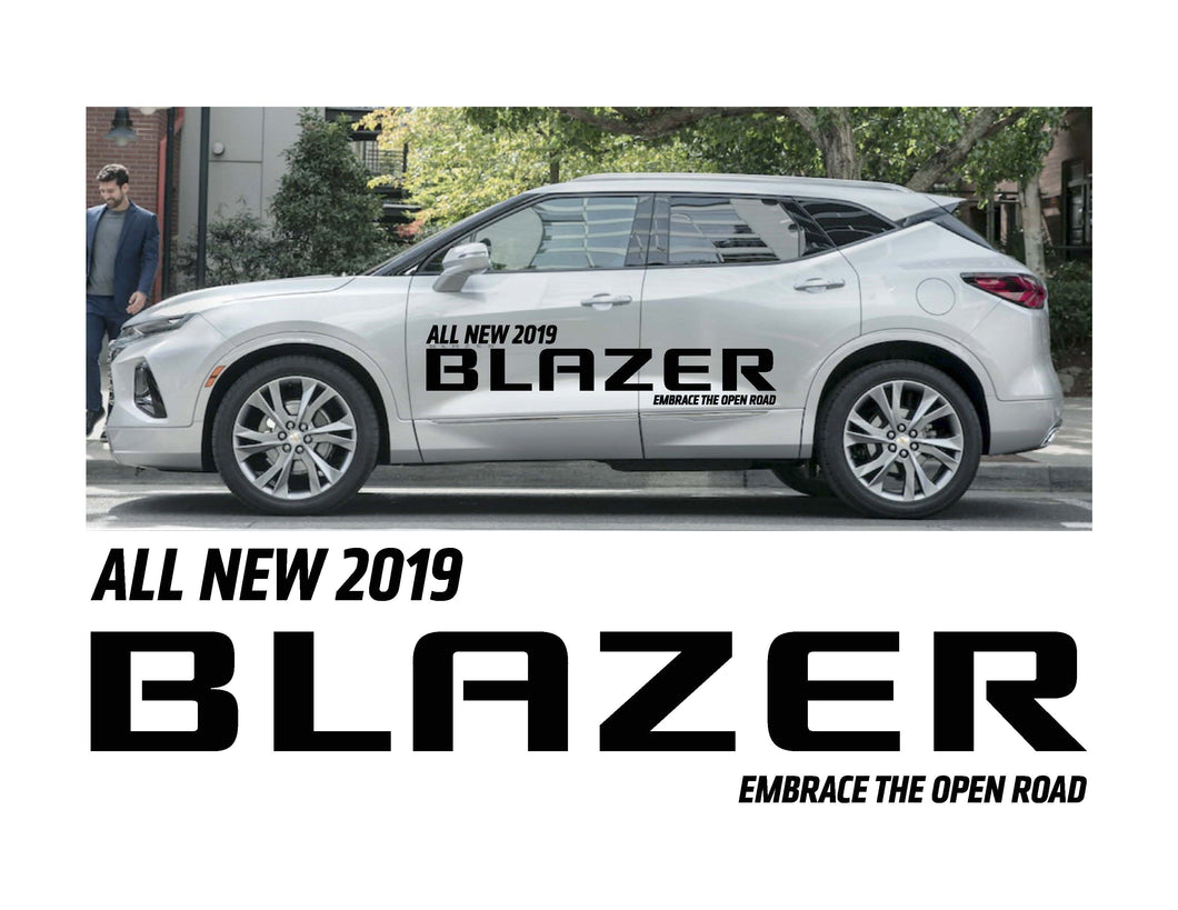 2019 BLAZER- VEHICLE-SIDE GRAPHICS