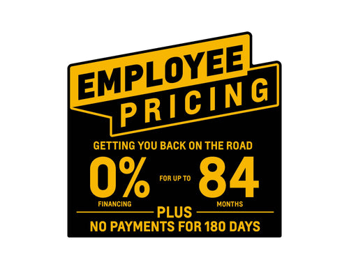 CHEVROLET EMPLOYEE PRICING WITH OFFER WINDSHIELD STICKER