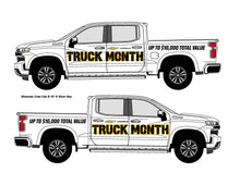 Load image into Gallery viewer, CHEVROLET TRUCK MONTH | VEHICLE-SIDE GRAPHICS