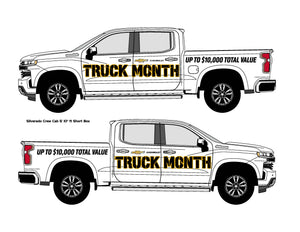CHEVROLET TRUCK MONTH | VEHICLE-SIDE GRAPHICS