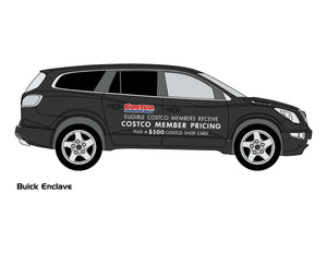 BUICK ENCLAVE | ENVISION COSTCO GRAPHICS