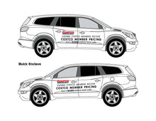 Load image into Gallery viewer, BUICK ENCLAVE | ENVISION COSTCO GRAPHICS