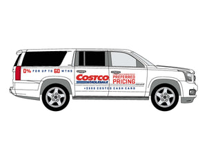 GMC COSTCO YUKON GRAPHICS